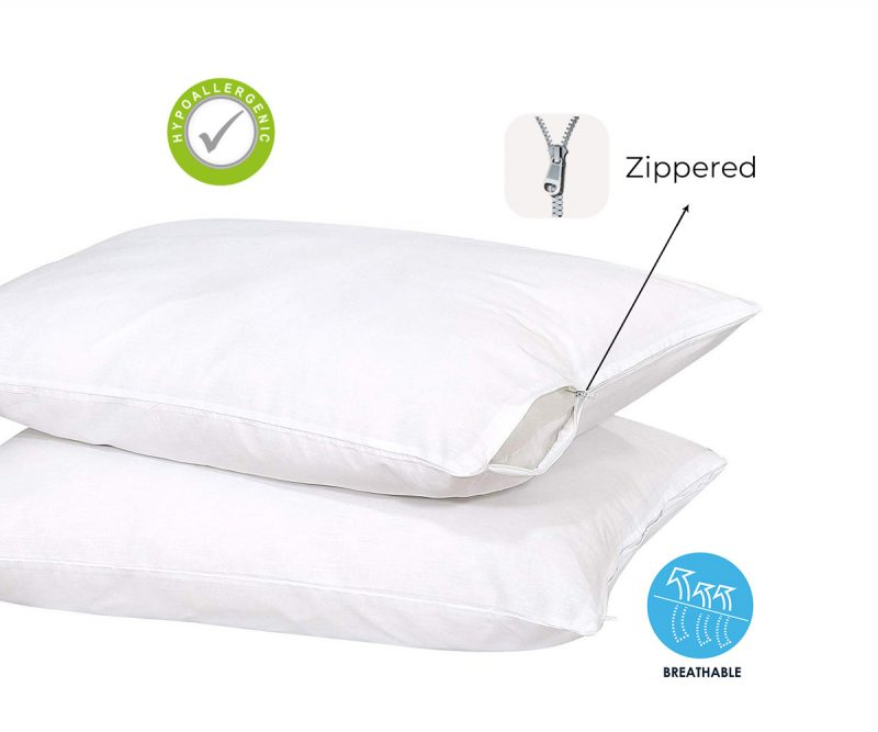 Pillows Protectors - Zipper