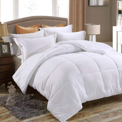 Microfiber Duvet Insert Quilted Design Plush 250 GSM Superior fill for Lavish Comfort and warmth including various sizes